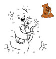 numbers game education game for children family vector image vector image