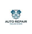 piston auto repair logo