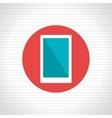 smartphone icon design vector image vector image