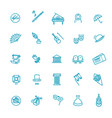 theatre collection isolated symbols vector image vector image