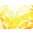 yellow white geometric background wallpaper vector image vector image