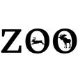 Zoo animals vector image vector image