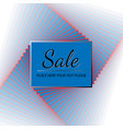 blue icon sale vector image