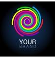 Creative abstract logo design template vector image vector image