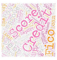 Fifo Score Best Way To Improve Your Credit Report vector image vector image