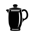 jug for milk or water canister pitcher logo image vector image