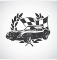 racing car fer vector image
