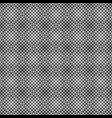 rounded square pattern background - monochrome vector image vector image