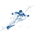 Snowboard Extreme vector image