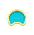 swimming pool icon design template vector image vector image