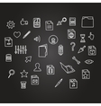 misc file and cursor computer technology icon vector image