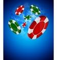 casino back vector image vector image