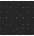 Grey Cats Seamless Pattern Animal Pets vector image vector image