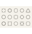 line emblems and badges frames for logo or vector image