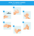 personal hygiene disease prevention and vector image