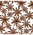 seamless cardamom pattern vector image vector image