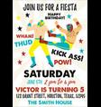 set of vintage lucha libre tickets lucha libre vector image vector image
