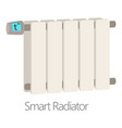 smart radiator icon cartoon style vector image