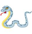 Cartoon serpent vector image