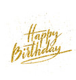 happy birthday beautiful greeting card vector image vector image