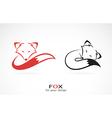 image an fox design vector image