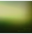 Abstract green textured background blurred vector image vector image