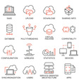 Cloud computing service icons - 2