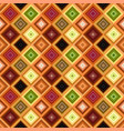 colorful abstract seamless diagonal square vector image vector image