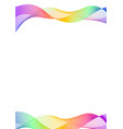 curve line layer abstract background vector image