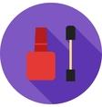 Nail Treatment Items vector image