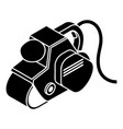 power tool icon simple style vector image