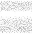 seamless rhinestones vector image vector image