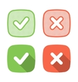 Trendy Check Mark icon for web or interface vector image vector image