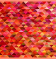 Abstract gradient geometrical triangle polygon vector image