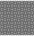 Black and white geometric tiles seamless pattern vector image