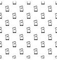 broken phone pattern vector image