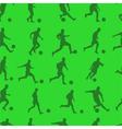 footballers vector image vector image