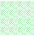 geometrical circle pattern background - green vector image vector image