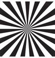 ray retro background vector image vector image