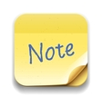 User interface note icon eps10 image vector | Price: 1 Credit (USD $1)