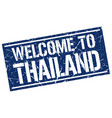 welcome to thailand stamp vector image vector image