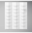 white squares Abstract backround vector image vector image