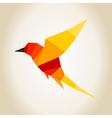 Bird abstraction4 vector image vector image