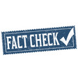 fact check grunge rubber stamp