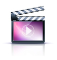 Media player icon vector | Price: 3 Credits (USD $3)