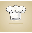 Sketch of a chef hat vector image vector image