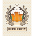 Three beers vector | Price: 3 Credits (USD $3)