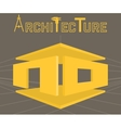 Architecture studio symbol vector image vector image