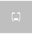 autobus computer symbol vector image vector image