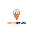 fox point logo vector image